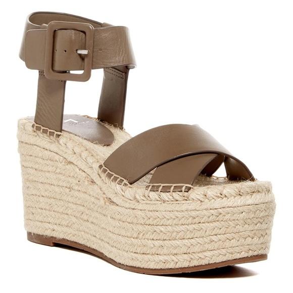 e5bf084780c Marc Fisher  Randall  platform wedge sandal. M 5ba50e2de944ba1e688cb05c